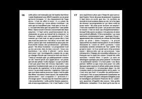 Un recueil des Textes #1 et #2