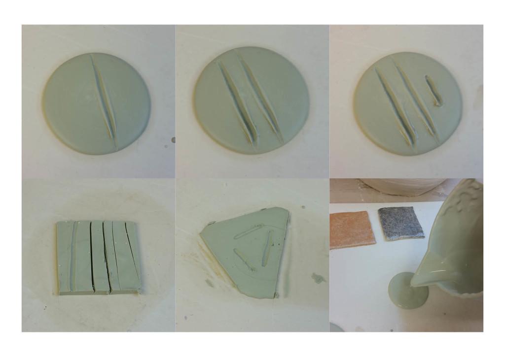 premiers essais porcelaine